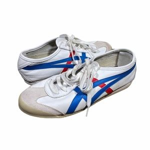 Onitsuka Tiger Sneaker Mexico 66 White Red Blue
